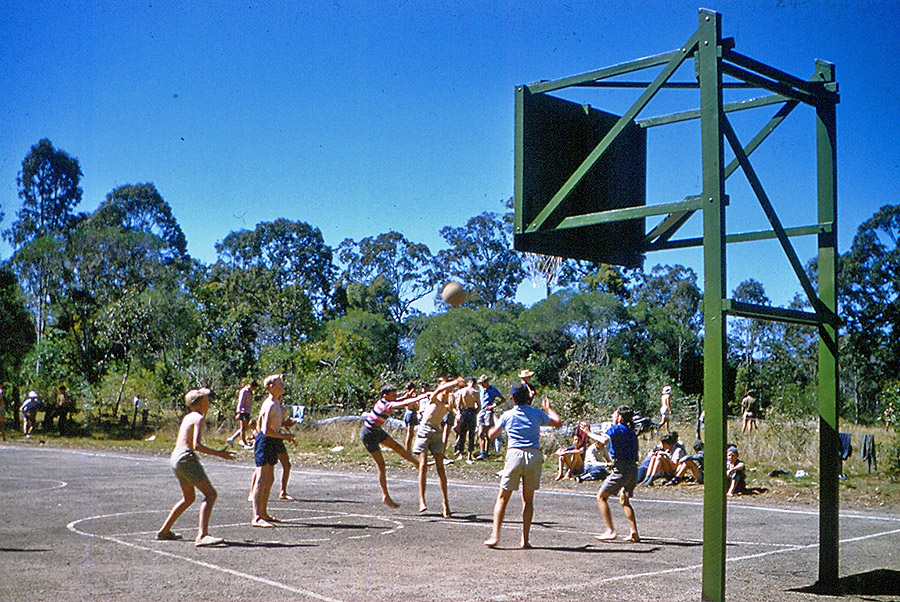 Camp-Warrawee---Basketball-was-Popular