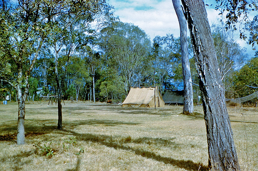 Camp-Warrawee---First-Camps-were-Conducted-in-Tents