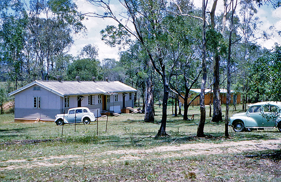 Camp-Warrawee---The-New-Main-Hall-made-from-Air-Force-Huts