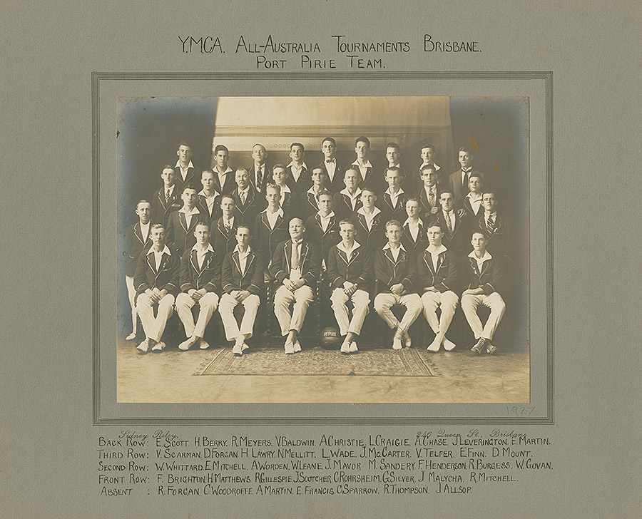 Sporting-Teams---All-Australia-Tournament-Brisbane-1927-(Port-Pirie-Team)