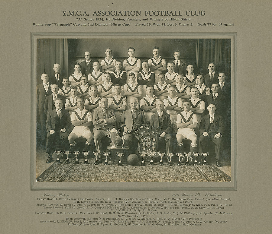 Sporting-Teams---Football---A-Senior-1934,-1st-Div,-Premiers-and-Winners-of-Hilton-Shield
