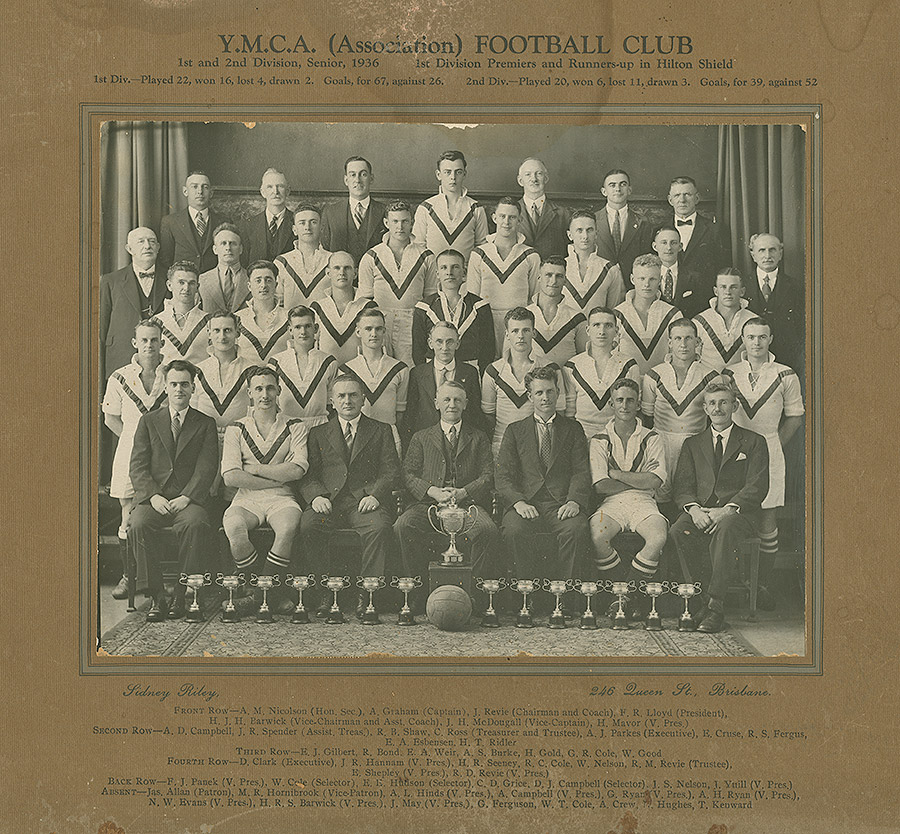 Sporting-Teams---Football-1st-and-2nd-Division-Seniors-1936-(from-the-estate-of-Betty-Goss-(husband-Reg-Goss-in-photo)-from-John-McMahon)